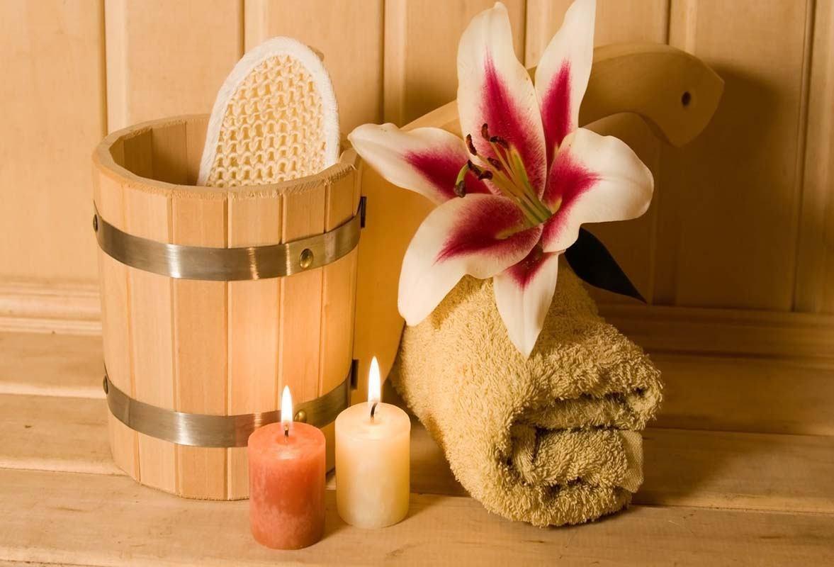 Wellness i sauna hotela Marina!