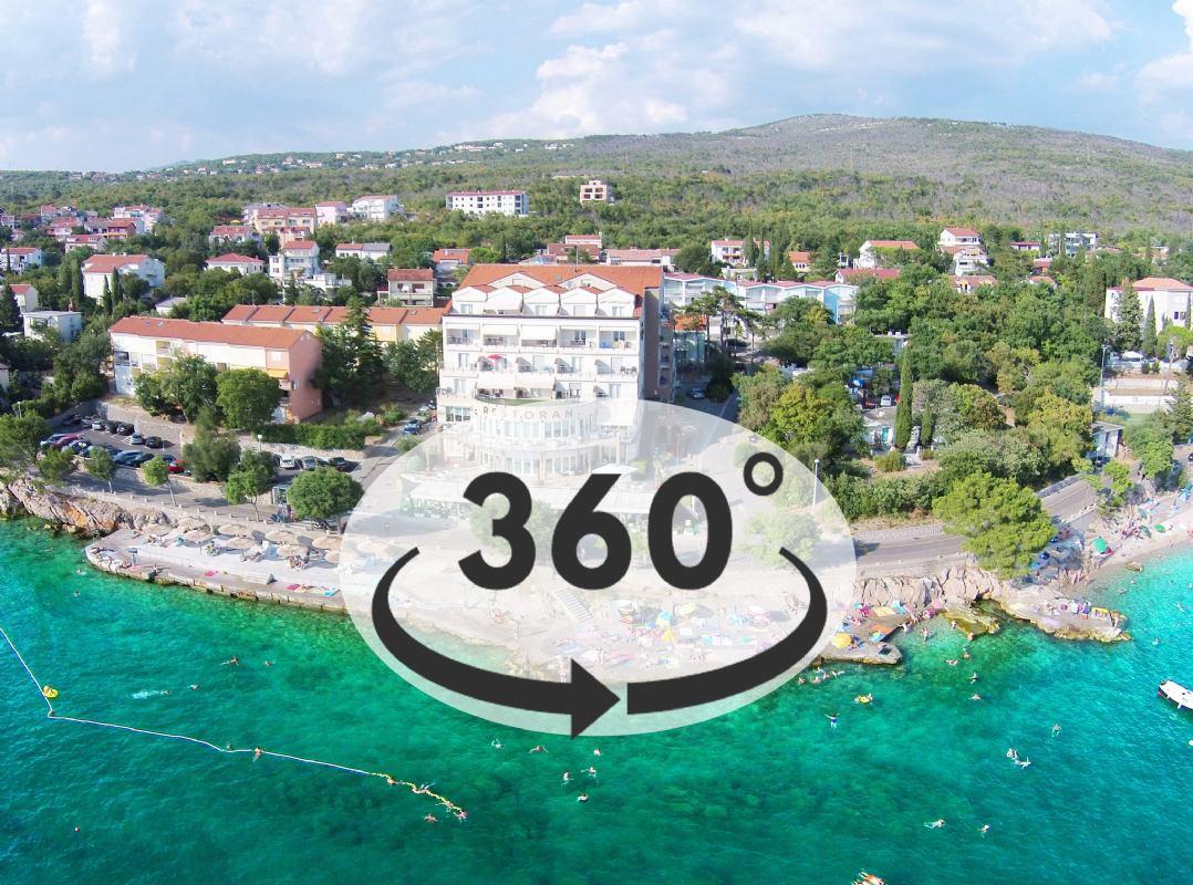 Doživite hotel Marina**** kroz virtualnu šetnju